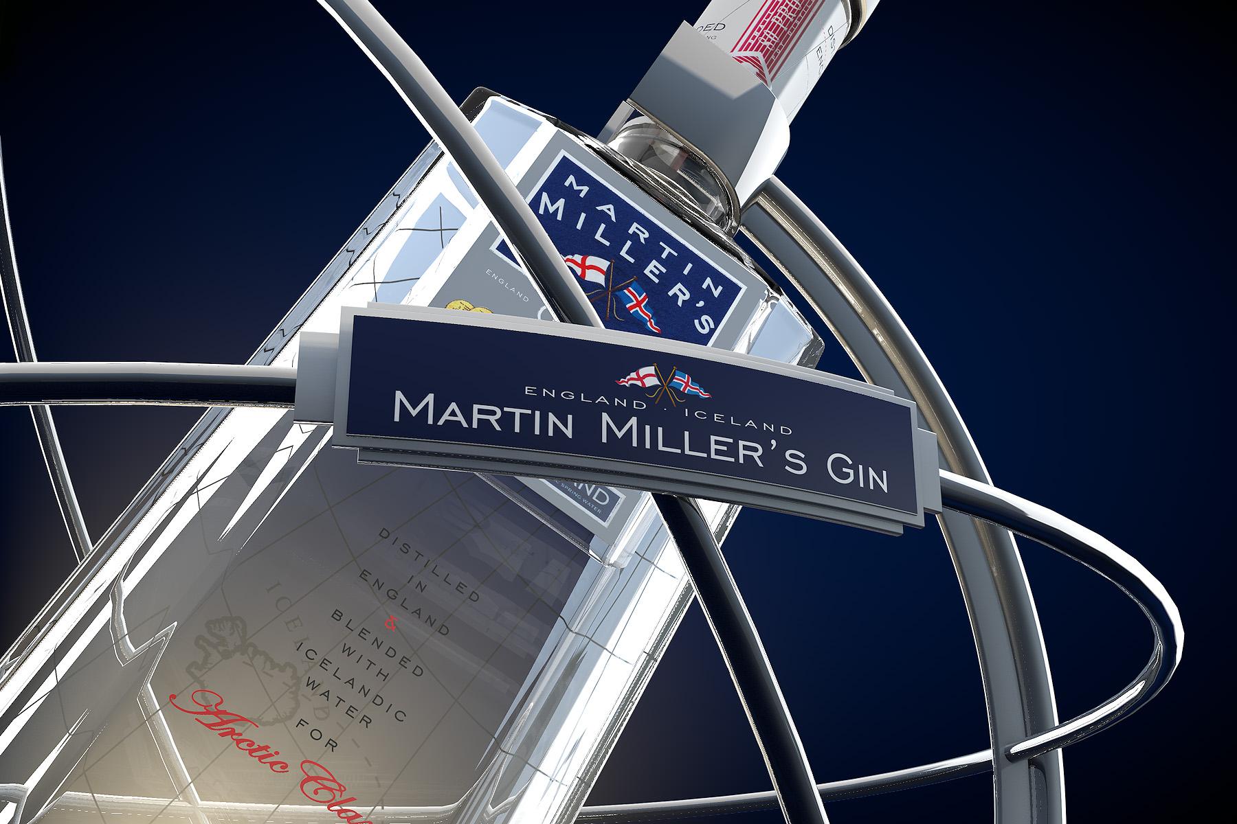 Martin Miller's Gin Key Visual
