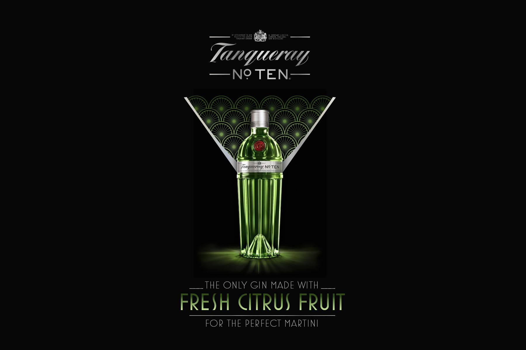 Tanqueray Nº TEN. Key-Visual.