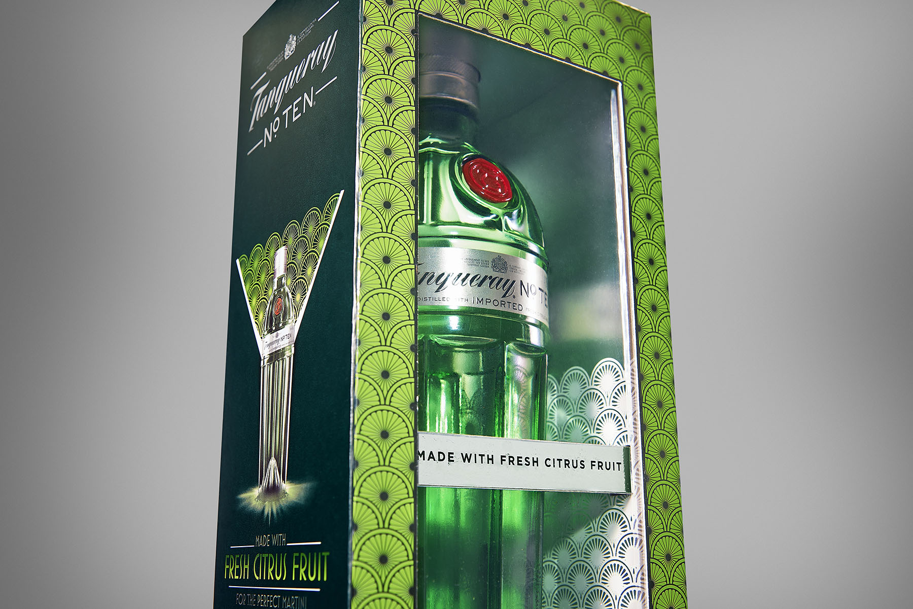 Packaging Tanqueray Nº TEN