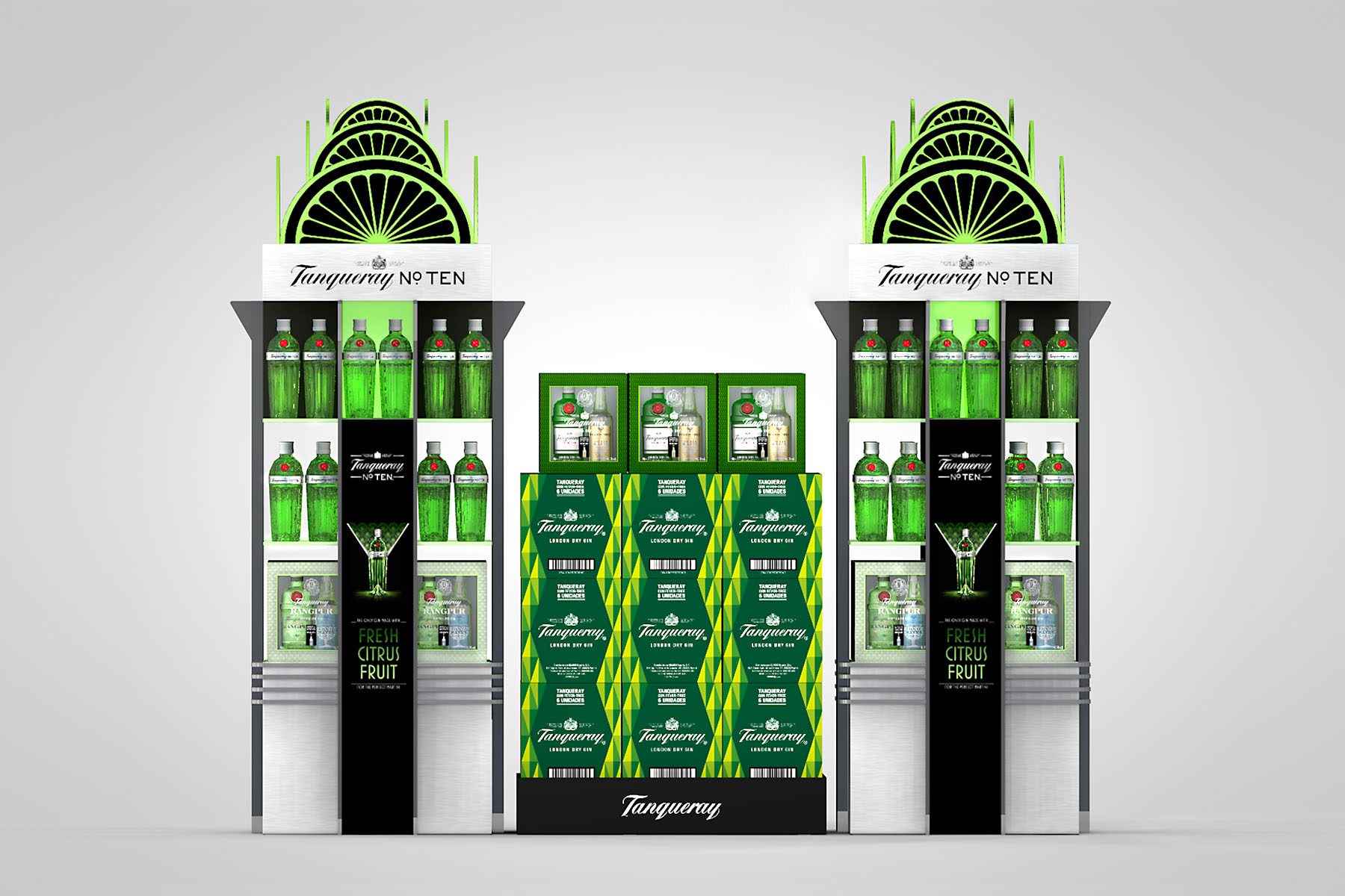 Expositor Tanqueray Nº TEN