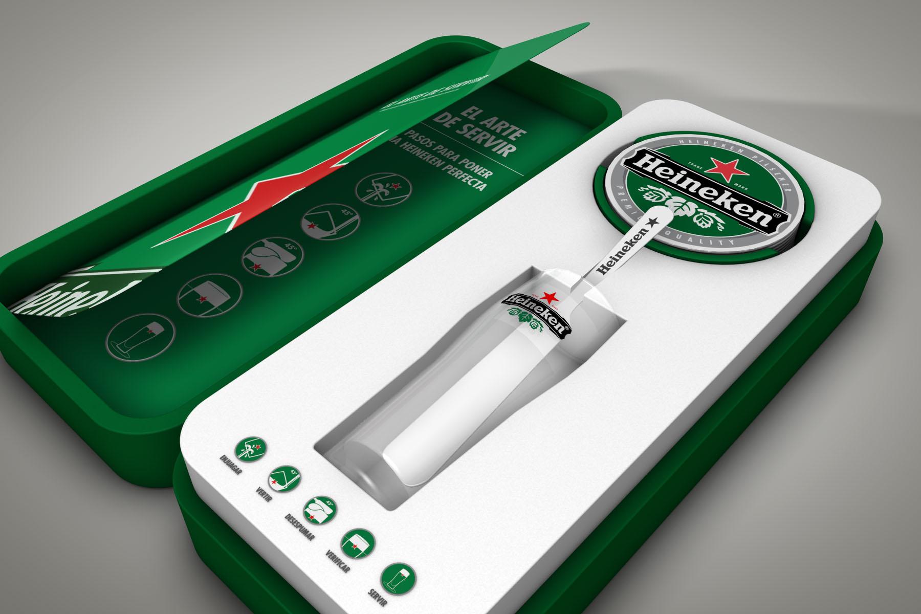 Welcome-Pack Heineken