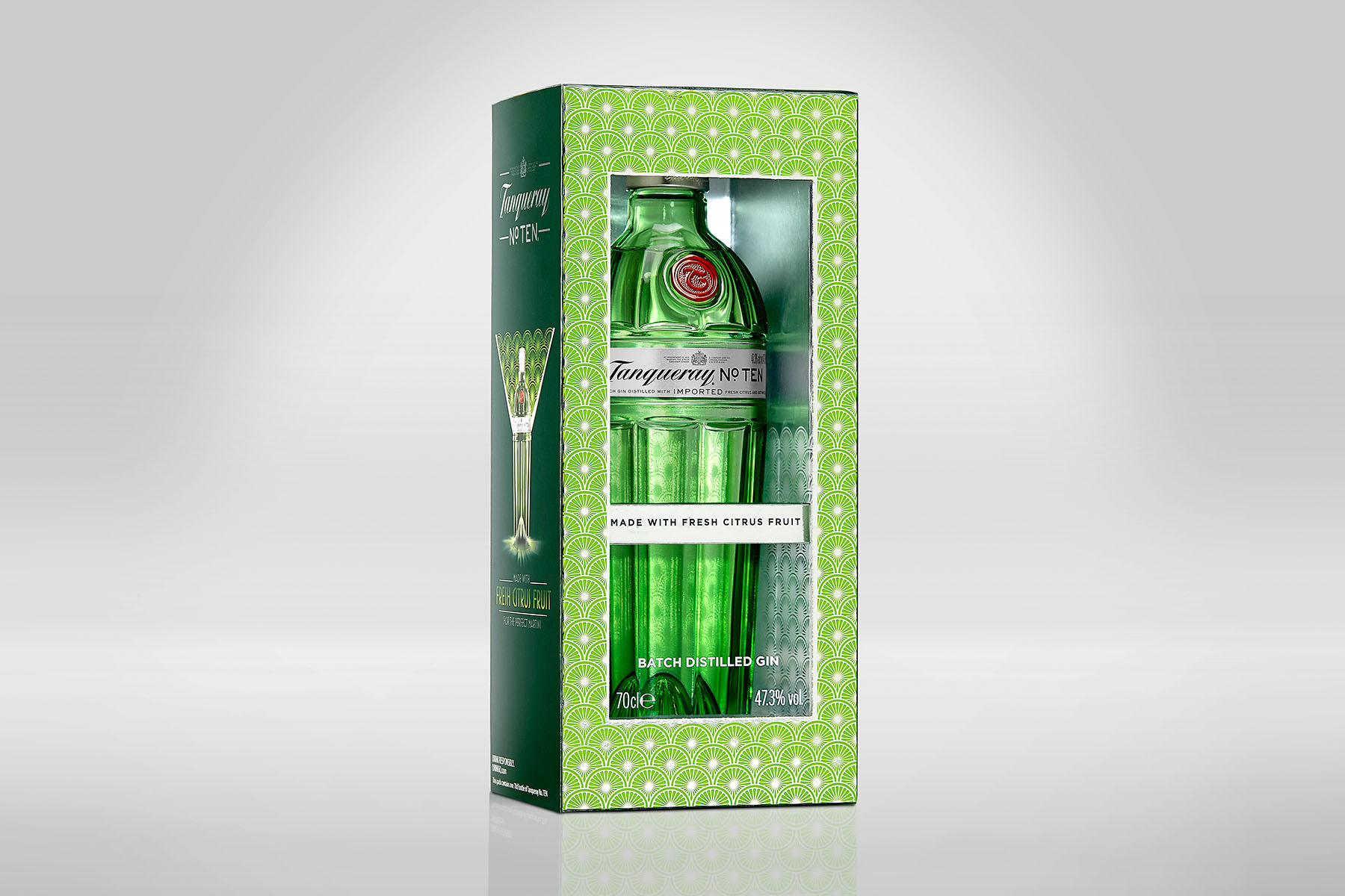 Packaging Tanqueray nºTEN