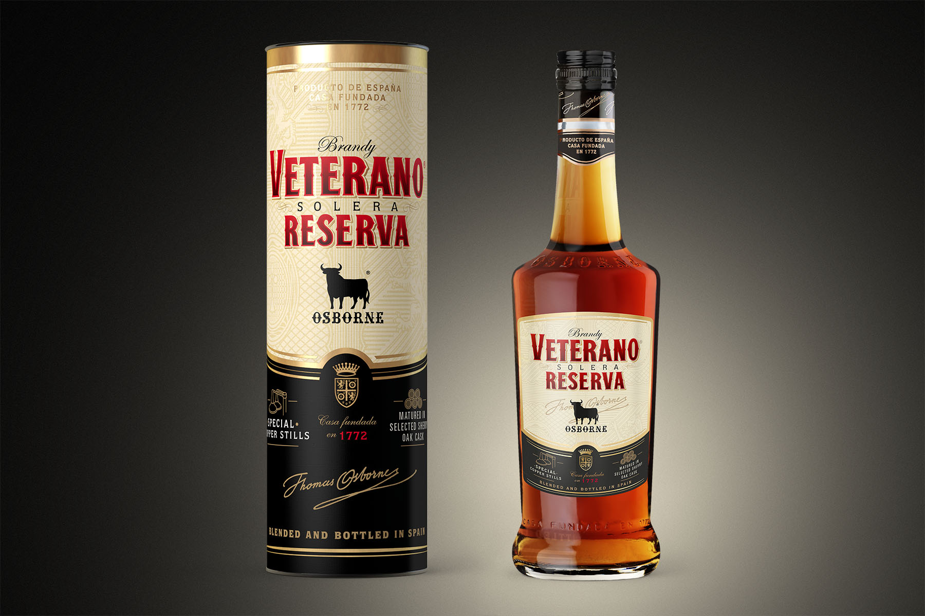 Packaging Brandy Veterano