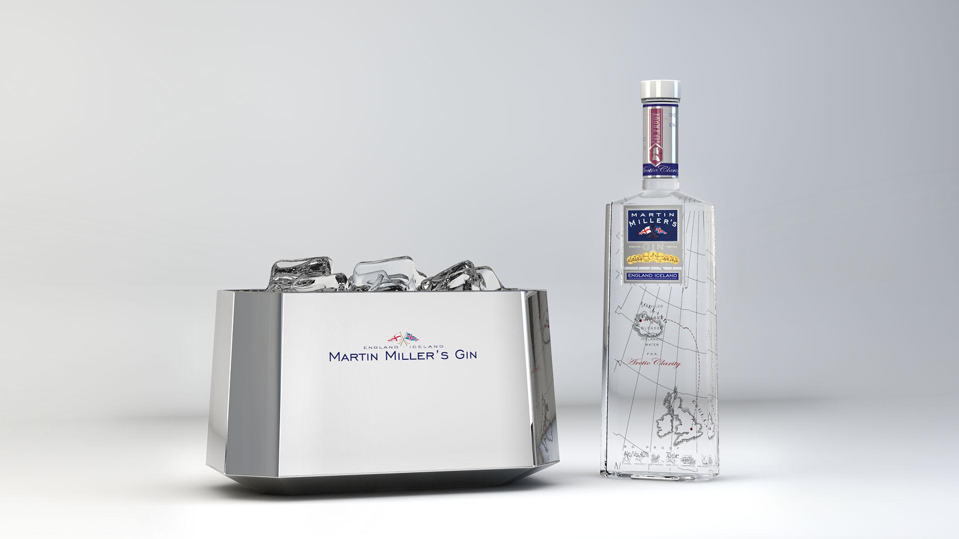 Martin Miller's Gin. Cubitera Exclusiva.