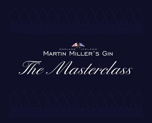 Ritual de servicio. Martin Miller's Gin. The Masterclass.