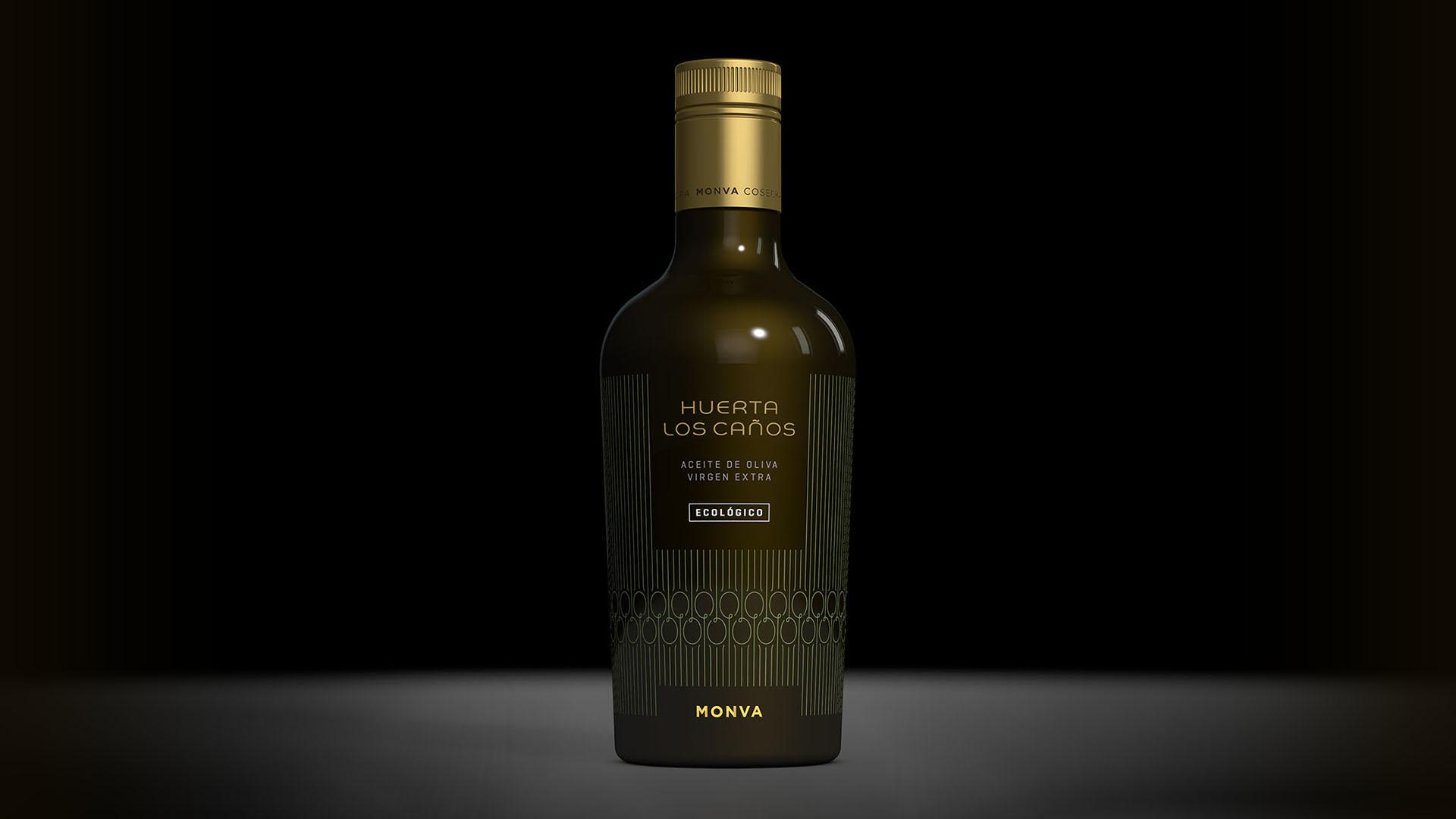 Botella AOVE Huerta los Caños
